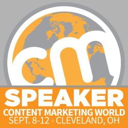 Content Marketing World Speaker