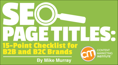 seo page titles for b2b and b2c brands