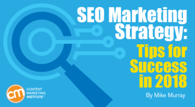 seo marketing strategy and Google rankings in 2018