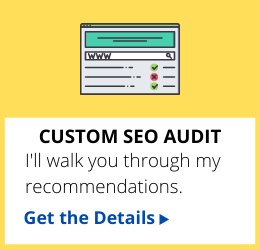 SEO audit for websites