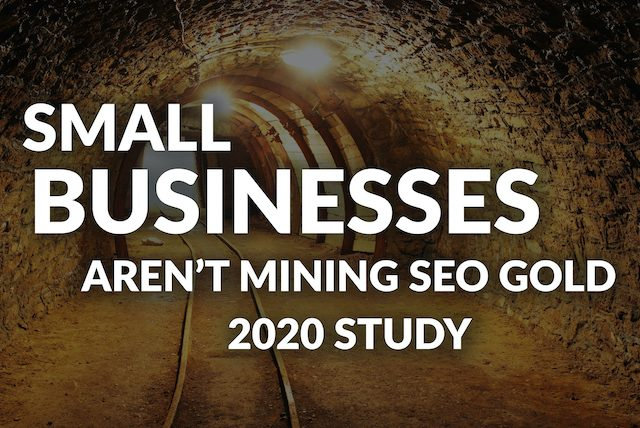 Small Business SEO Study [2020 Research]